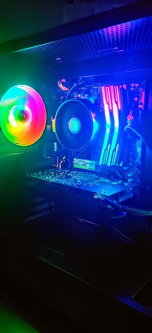 BRAND NEW RGB High End Editing Gaming Streaming PC Desktop No Trades for Sale in Tempe, AZ