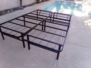 $50**Full Size Foldable Platform Bec for Sale in Henderson, NV