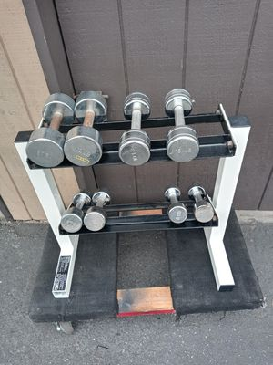 Weights and stand for Sale in Anaheim, CA