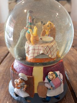 Disney Lady and the Tramp Musical Snow Globe for Sale in La Puente,  CA