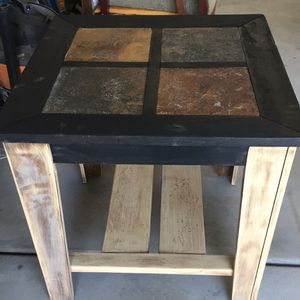 Wood Side/End Table 26 x 26 x 25 for Sale in North Aurora, IL