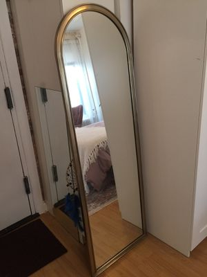 Brand new world market gold arched mirror for Sale in New York, NY