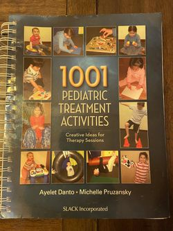 Occupational Therapy 1001 Pediatric Treatment Activities Book for Sale in Goodyear,  AZ