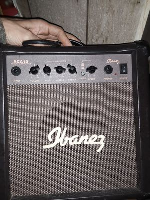 Ibanez guitar amp $50 obo for Sale in Bartonville, IL