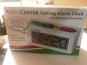Medcenter talking alarm clock and medication reminder for Sale in Las Vegas, NV
