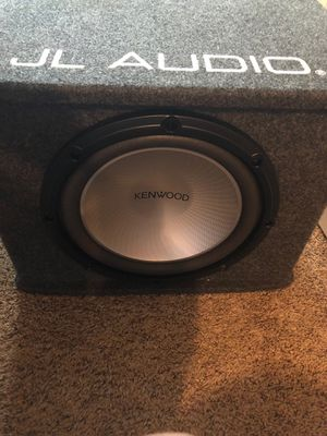 "12"" Sub W/ Box & Amp for Sale in Granger, TX"
