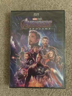 Brand new Avengers Endgame DVD $5 for Sale in Fairview, OR
