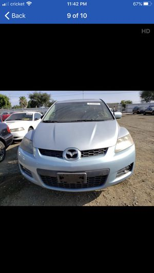 CX7 Mazda 2009 por partes for Sale in Fresno, CA