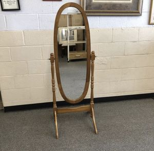 Dark oak mirror for Sale in Covina, CA