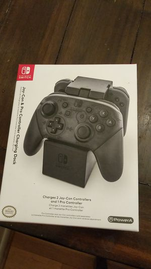 NEW PowerA Joy-Con & Pro Controller Charging Dock - Nintendo Switch. Condition is New. for Sale in Mesa, AZ