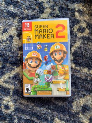 Super Mario Maker 2 for Sale in Plano, TX