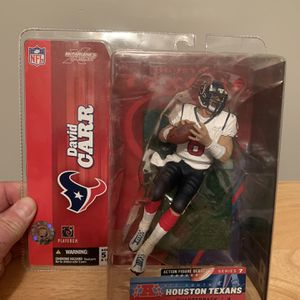 McFarlane David Carr Houston Texans 7inch Figure for Sale in Plainfield, IL