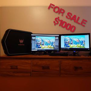 GAMING COMPUTER/ MONITORS. for Sale in Denver, CO