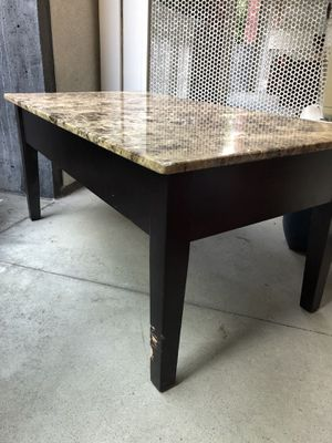 Pneumatic Granite top Coffee Table for Sale in San Francisco, CA
