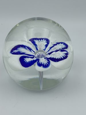 Vintage Murano Flower Paperweight for Sale in Brandon, MS