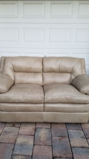 New leather couch sofa loveseat for Sale in Davie, FL