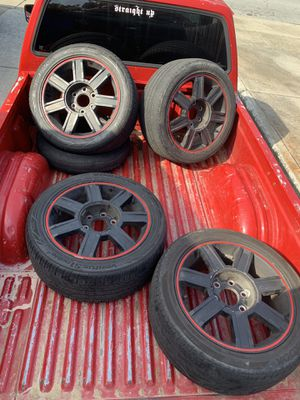 "6 x 139 Cadillac rims they are 18""s for Sale in Redwood City, CA"