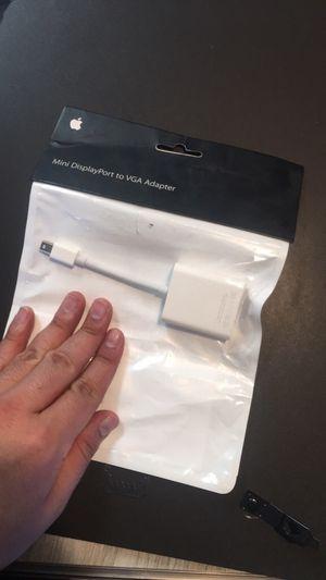 Mac DisplayPort to VGA Adapter for Sale in Santa Fe, NM