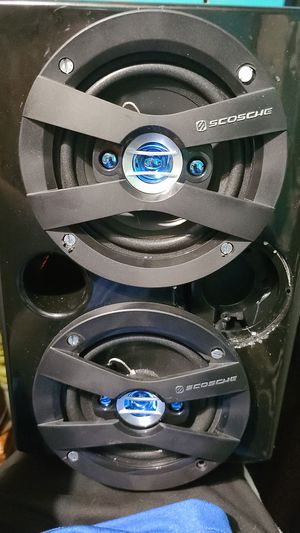 Scosche speakers for Sale in Adrian, MI