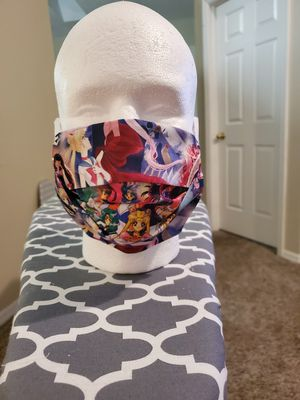 Retro Sailor Moon Face Mask for Sale in Clermont, FL