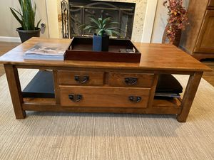 Solid wood table / bar set for Sale in Stockton, CA