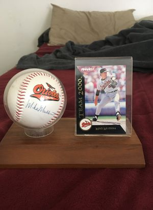 Autograph orioles baseball do not have a coa And price is negotiable for Sale in Gaithersburg, MD