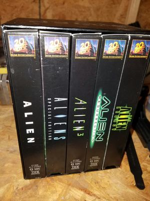 The alien Legacy five VHS set excellent condition for Sale in Virginia Beach, VA