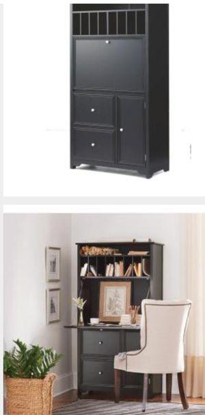 OxfordSecretary Desk, black for Sale in Columbus, OH