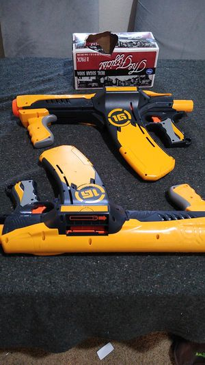 Two Nerf tag quickshot 16 for Sale in Vancouver, WA