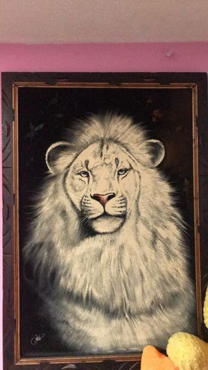 Lion poster for Sale in Wellsburg, NY