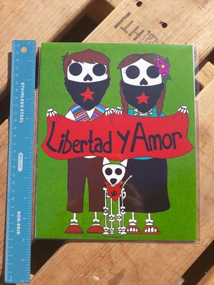 "EZLN Day of the Dead 8""x10"" Print for Sale in Los Angeles, CA"