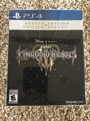 Kingdom Hearts 3 Deluxe Edition (SEALED) for Sale in Antelope, CA