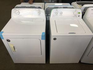 Liquidation! 1 YR Warranty Washer Electric Dryer Set Roper Top Mount #745 for Sale in Houston, TX