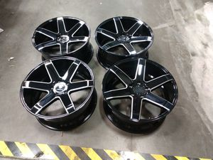 20x9 offset 35 pcd 5x127 or 5x5 for Sale in Chino, CA