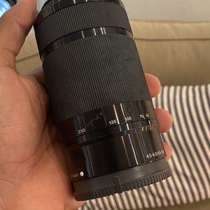 Sony 55-210mm f/4.5-6.3 telephoto lens for Sale in Miami, FL