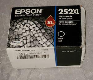 Epson T252XL120 DURABrite Ultra Black High Capacity Cartridge Ink - NEW - for Sale in Gilbert, AZ