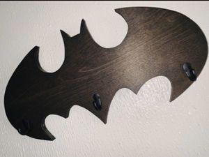 Walnut Batman Key holder for Sale in Fresno, CA