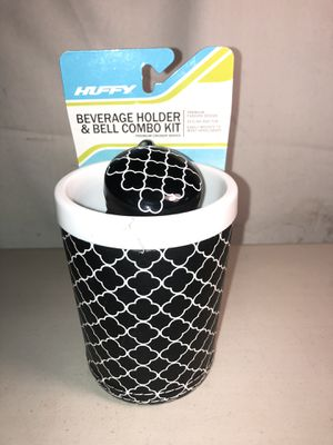 Beverage holder & bell combo kit (5$ locally 7$ for shipping) for Sale in Tucson, AZ