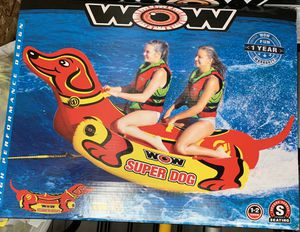 Inflatable, Boat toy - tow behind for Sale in Stanwood, WA