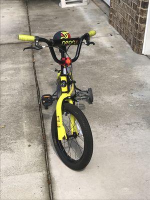 Avigo boys 16 inch bicycle training wheels assembled new BMX for Sale in Kathleen, GA