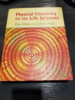 Physical Chemistry for the life Sciences for Sale in Perris, CA
