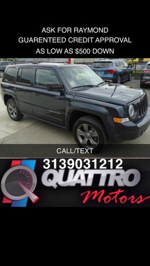 2015 Jeep Patriot High Altitude Edition for Sale in Redford Charter Township, MI