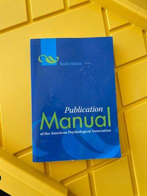 APA guideline manual for Sale in Murrieta, CA