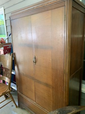 Antique 1930s cedar armoire for Sale in Cumming, GA