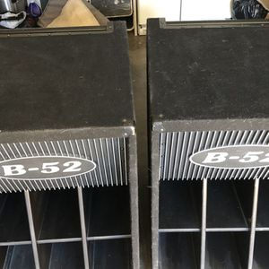 2 Subwoofers B-52 LX-18 V2 1000 Watts Each for Sale in Baldwin Park, CA