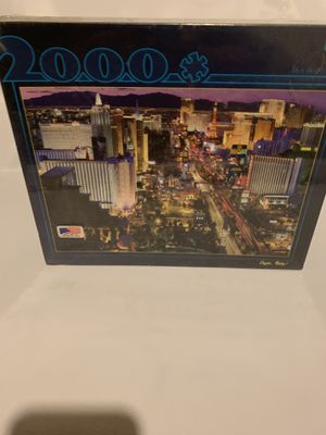 VEGAS BABY! Jigsaw Puzzle NEW 2000 for Sale in Bakersfield, CA