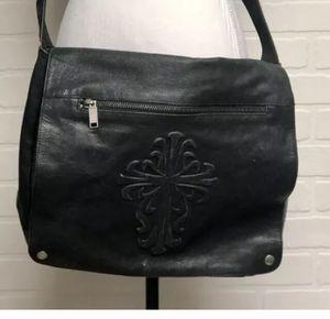 Vintage Wilsons Leather M. Julian Black Leather Messenger Sachel Laptop Bag for Sale in Baltimore, MD