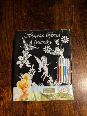 Velvet coloring sheets for Sale in Los Angeles, CA