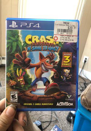 Crash trilogy for Sale in Sidney, NY