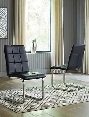 Brand new modern black dining chair (set of 8) for Sale in Renton, WA